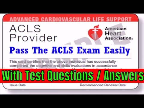 ACLS Review 2019 YouTube