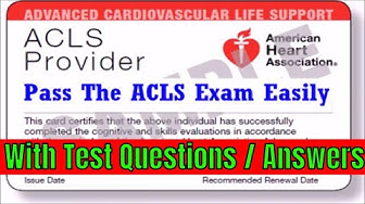 ACLS Review - 2019