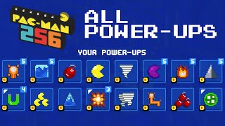 PACMAN 256 ALL POWER UPS Unlocked Gameplay | iOS, Android