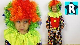 ★ Костюм КЛОУН Новогодний Марафон от Рома Шоу Kids Costume Runway Show clown