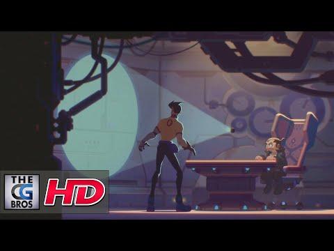 """(PG-13) CGI Anime Short: """"X-STORY"""" - by Vitaliy Shushko"""