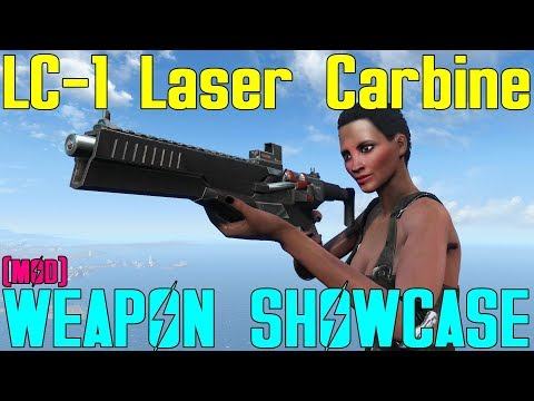 Fallout 4: Weapon Showcases: LC-1 Laser Carbine (Mod)