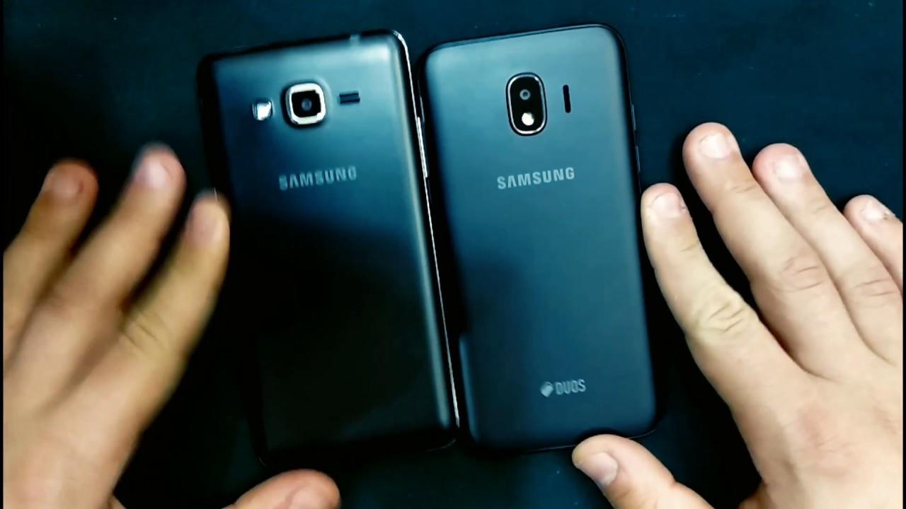 Samsung Galaxy Grand Prime Pro J2 2018 2018 Vs Samsung
