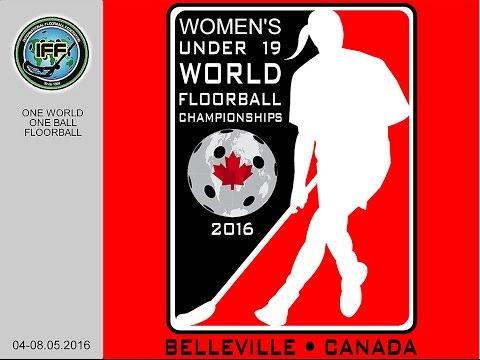 Women's U19 WFC 2016 - Final - SWE v FIN