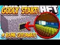 GODLY START TO THE NEW SERIES + RANK GIVEAWAY! | Minecraft Factions | SaicoPvP | Overlord Realm [1]