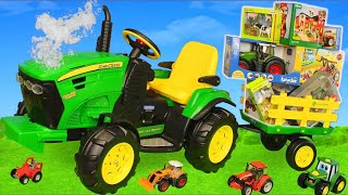 Tractor , Trucks & Cars Toy Vehicles for Kids