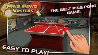 Ping Pong Masters - Android Gameplay