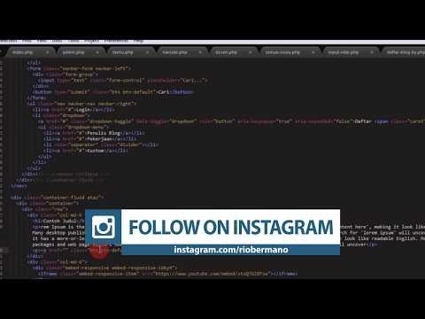 Supaya Link HTML Terbuka Di Tab Baru Browser