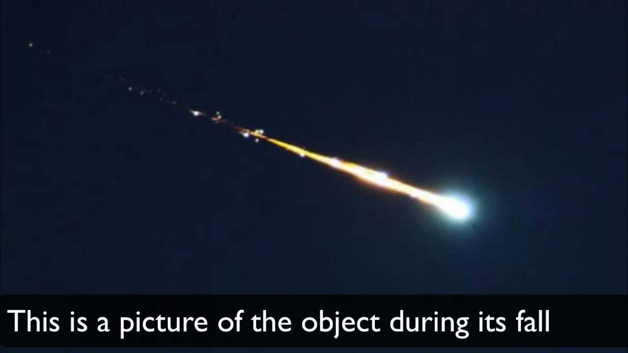 UNCUT ! Object falling from the sky (Damages videos ...