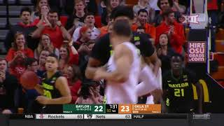 Baylor vs Oklahoma State Men's Basketball Highlights