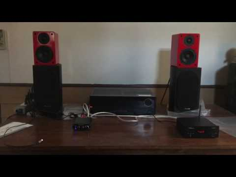 nobsound ns-1800 ขับด้วย FX-audio FX-502E(01)