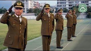 Ceremonia de ascenso y retiro de Generales