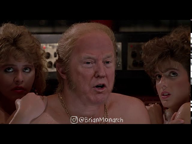 Caught On Video - Donald Trump Watching Jeffrey Epstein News On Live TV