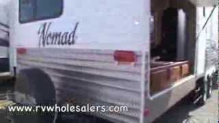 2011 Nomad Joey 312BH Travel Trailer Camper at RVWholesalers.com 001715 - Autumn Green