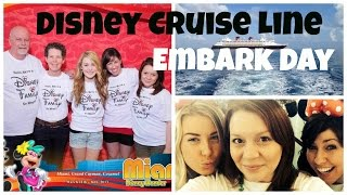 Disney Cruise Embarkation Day: First Day Tips|Sail Away Party