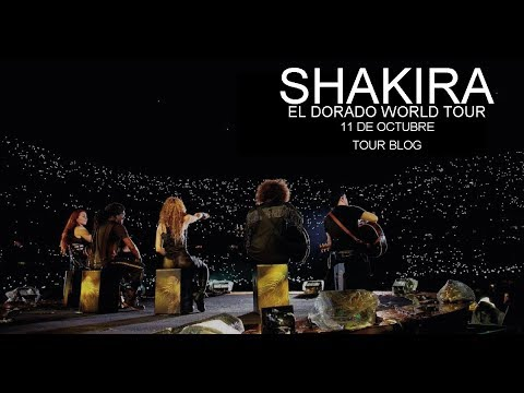 "Shakira ""El Dorado World Tour"" 1a Fila Estadio Azteca TOUR BLOG"