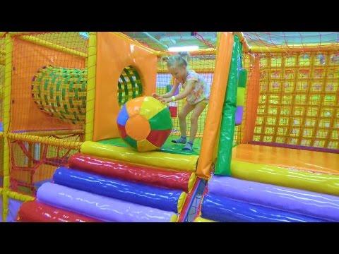 Классный Детский Игровой Центр! Огромные Батуты и Бассейн с Шариками!