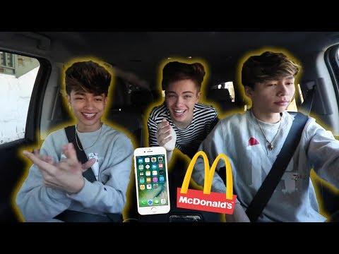 Mcdonalds Employee Asked For His Number At Drive Thru   Carpool Karaoke Parody