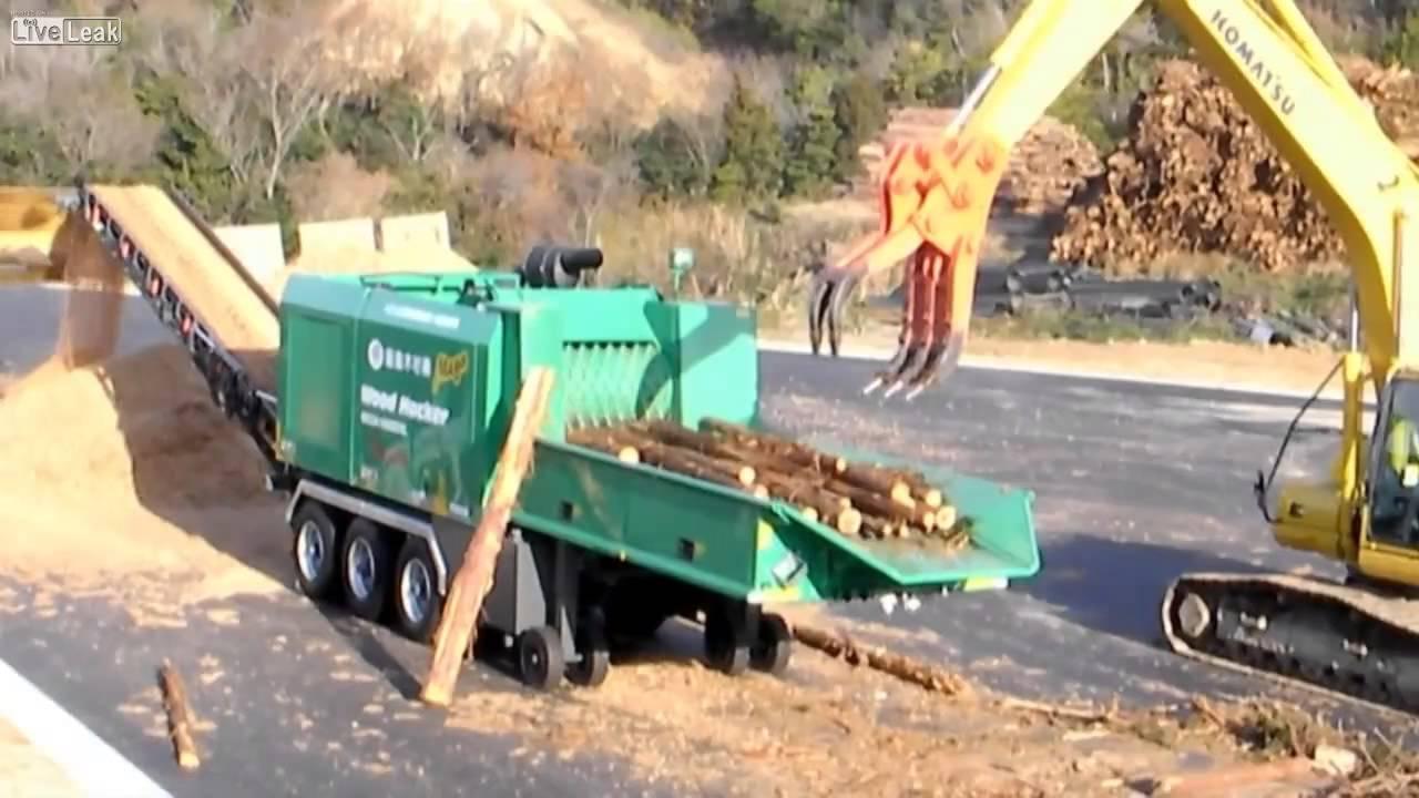 Duty Wood Shredder Heavy Chipper