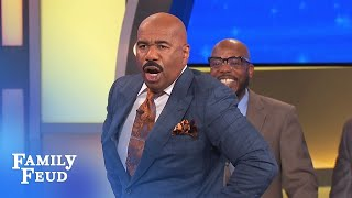 WHAAAT? Co-worker stole MY ENTIRE CUBICLE! | Family Feud