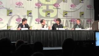 Doctor Who at Wondercon 2011 with Neil Gaiman, Mark Sheppard, Chris Hardwick