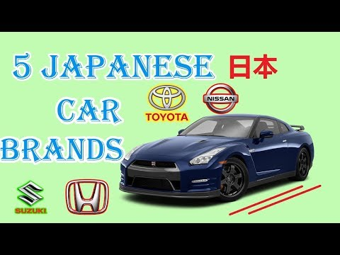 TOP 5 MOST POPULAR JAPANESE CAR BRANDS