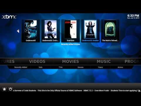 Organiza tus bibliotecas de peliculas y musica con XBMC + descarga