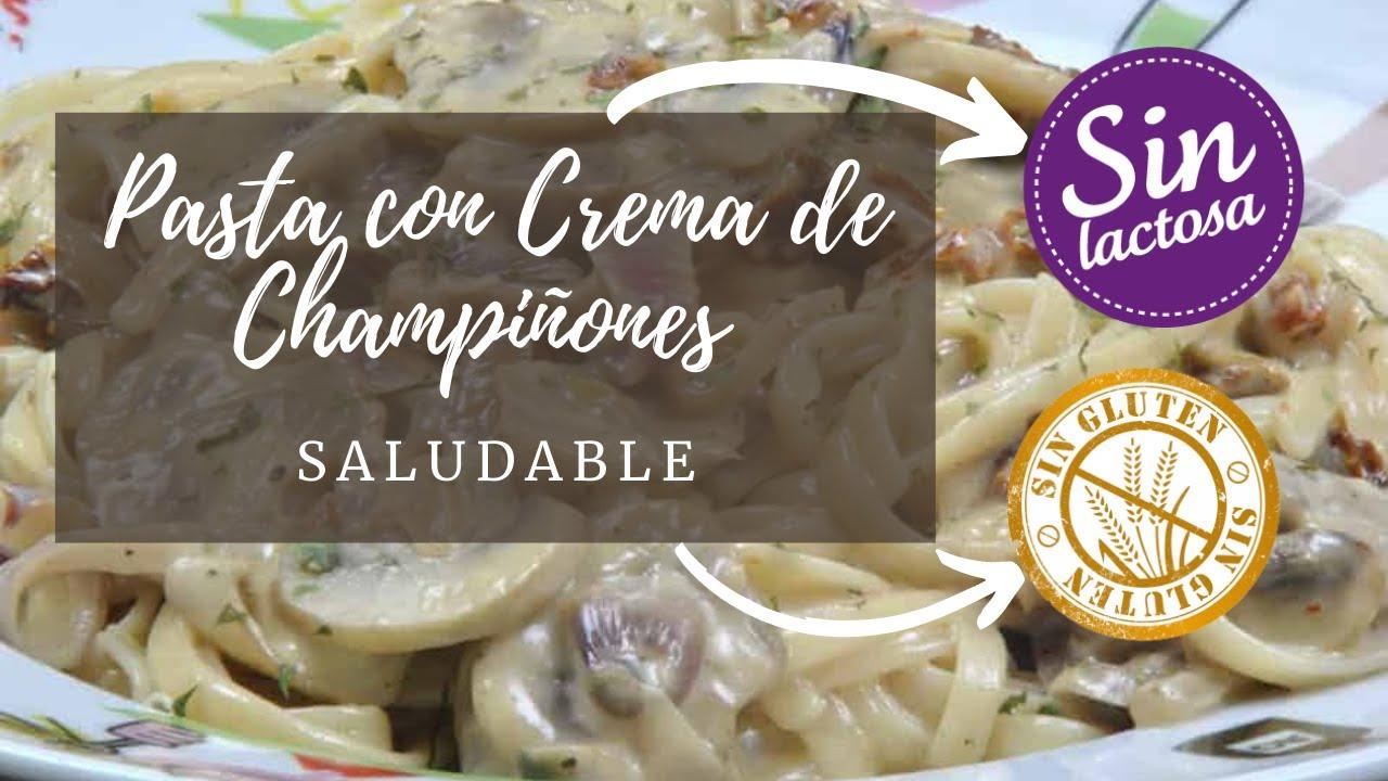 salsa para pastas con champinones