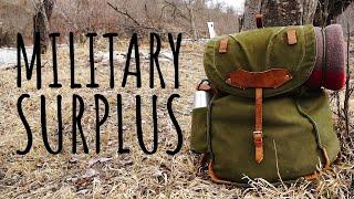 Military Surplus Camping | Minimal Gear