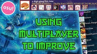 [osu!] How to improve using multiplayer!