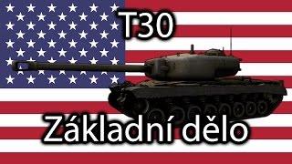 World of Tanks - T30 - Základní dělo