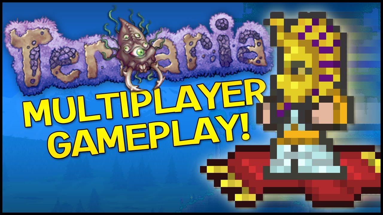 Terraria 1 3 Co Op Gameplay Update 1 3 0 3 Dungeon