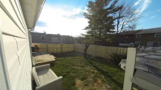 New Fence Time Lapse