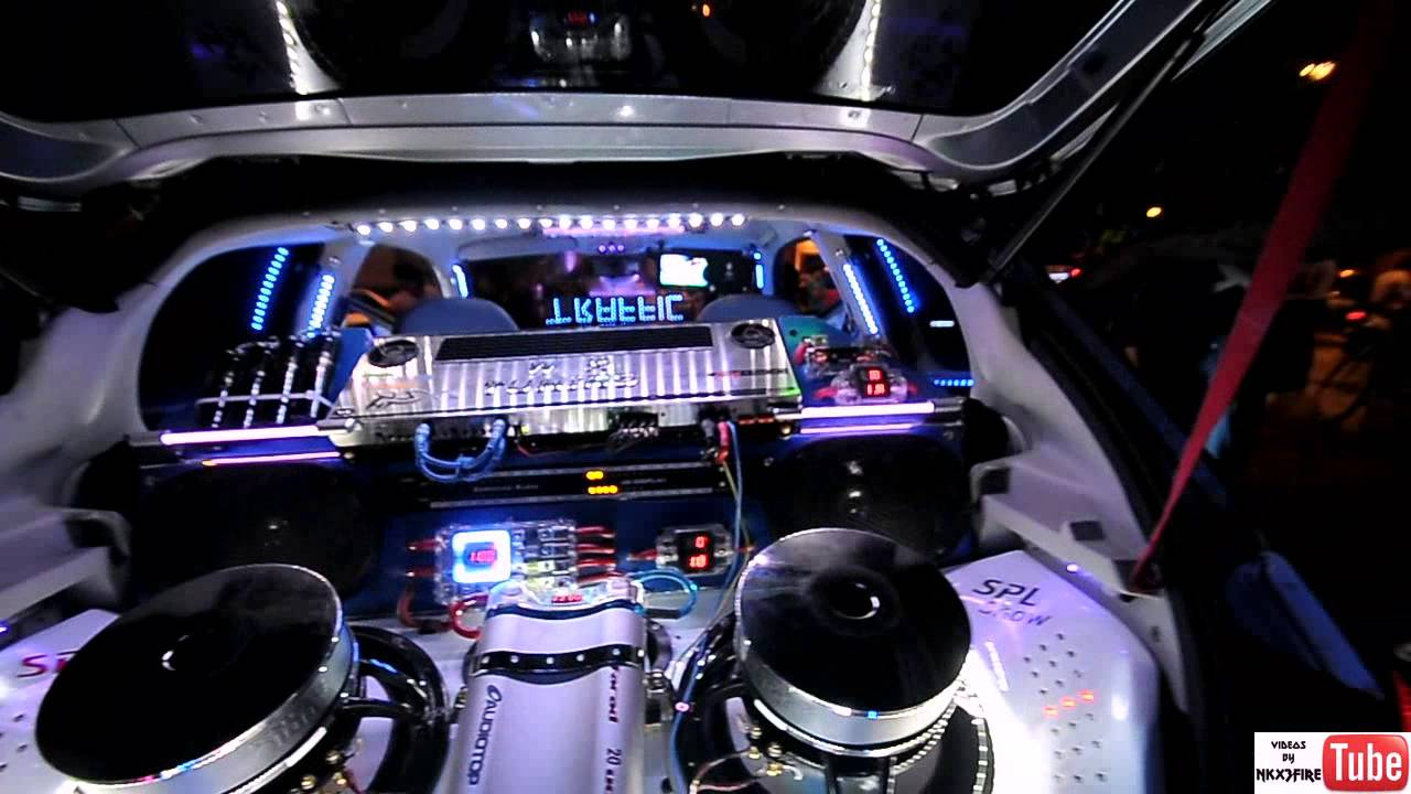 Peugeot 206 Extreme Tuning Lights Led Neon Strobo Laser