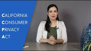 Habitu8 Explains Stuff: CCPA - The California Consumer Privacy Act