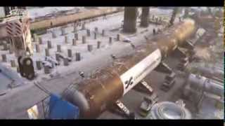 DEMAG CC 8800 work in Russia - Монтаж тяжеловесного груза - SWTRANS(, 2014-01-04T19:21:46.000Z)