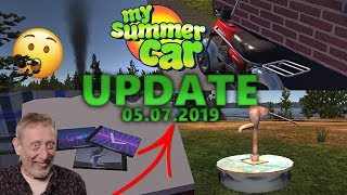 My Summer Car UPDATE [05.07.2019] Poidła, Nowe CD i inne - Omówienie Aktualizacji