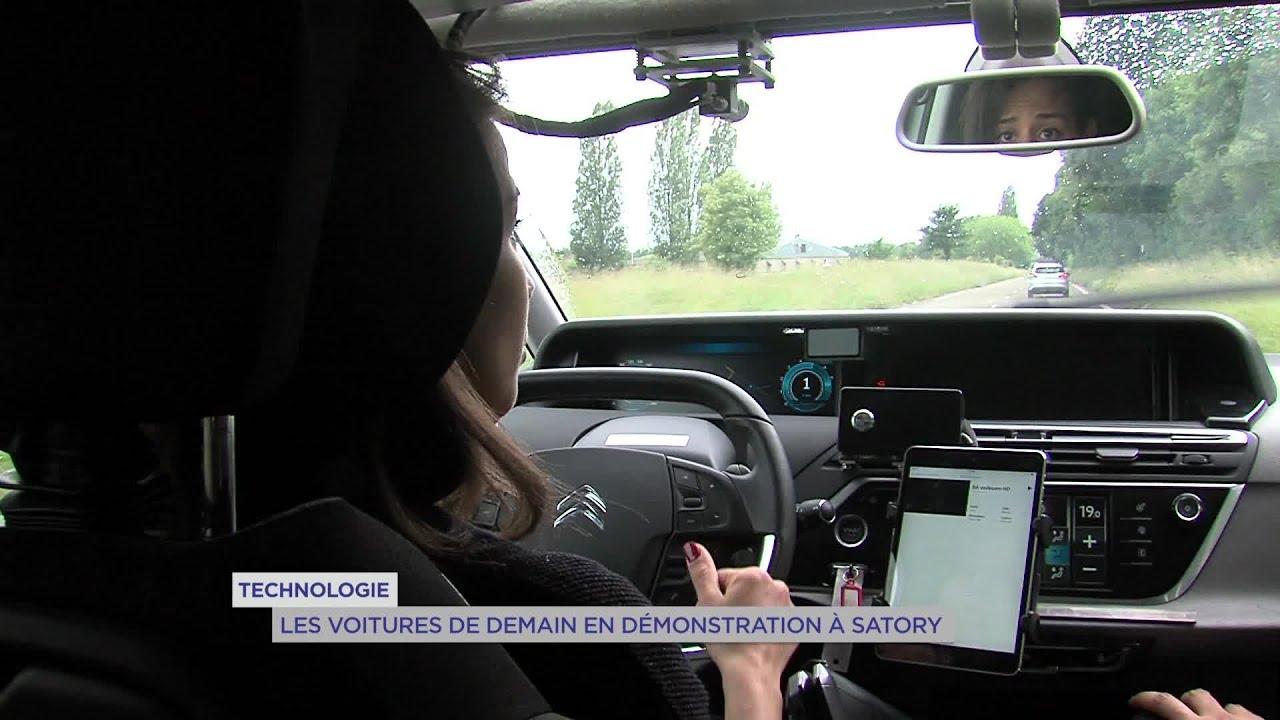 Yvelines | Technologie : Les voitures de demain en démonstration à Satory