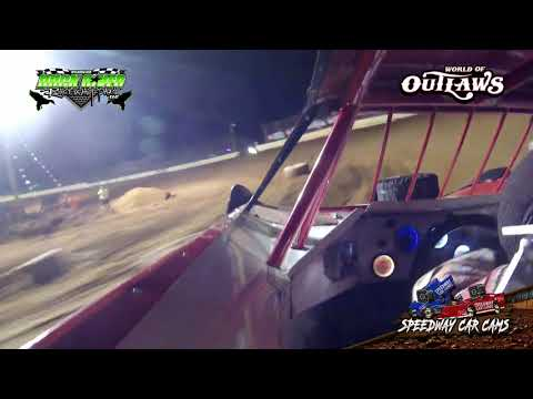 #61 Caleb Ashby - World of Outlaws - 3-22-19 Duck River Raceway Park - In Car Camera
