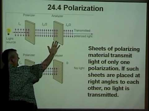 Physics 220 -SP 2010 -  Lecture 31 - Diffraction and Polarization