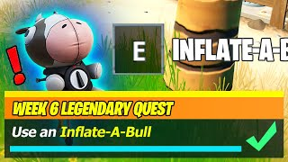 Use an Inflate-A-Bull & Inflateabull Locations (Fortnite)