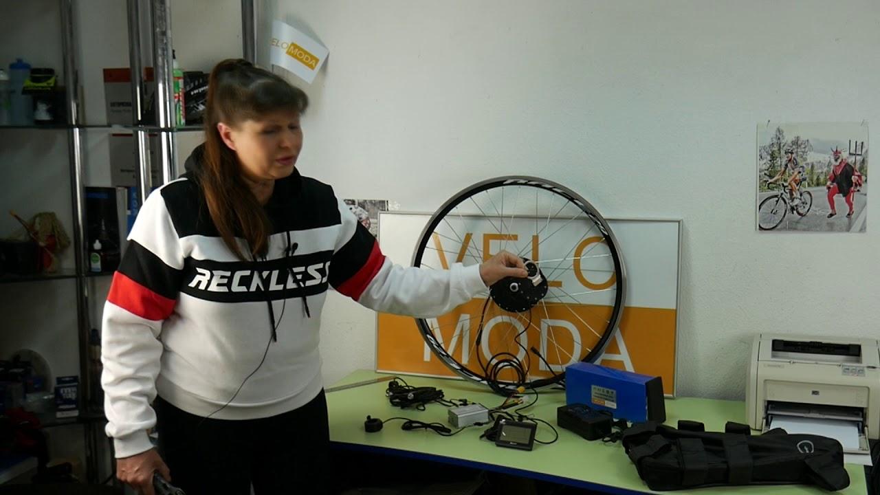 Мотор-колесо MXUS для электровелосипеда - сделай электровелосипед САМ!