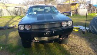 FIRST IN THE WORLD CHALLENGER FRONT END ON 81 MALIBU ON Davin 28's