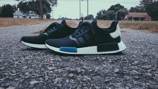 Blacked out! Adidas Tokyo NMD Custom/Restore time lapse! *READ DESCRIPTION*