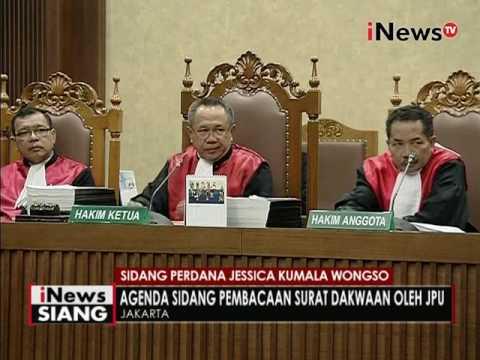 Agenda Sidang Pembacaan Surat Dakwaan Oleh JPU - INews Siang 15/06