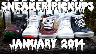Sneaker Pickups! - January 2014 Thumbnail
