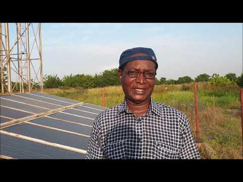 Comment installer un système d'irrigation par microaspersion sous pompage solaire PV