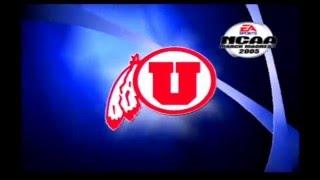 NCAA March Madness 2005 Rivalry Game Flashback BYU vs Utah Retro Gameplay