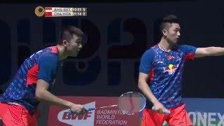 Dubai World Superseries Finals 2015 | Badminton F M5-MD | Ahs/Set vs Chai/Hong