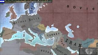 Under the German Boot: A Hearts of Iron Timelapse